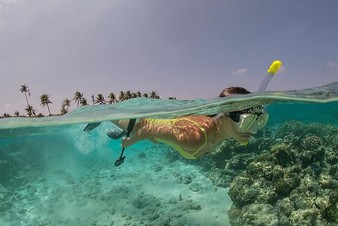 Елена Темникова покоряет Мальдивы