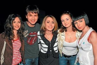 Сергей Лазарев поздравил с Днем рождения группу