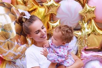 Ханна и Пашу отметили первый день рождения дочери и озвучили ее имя