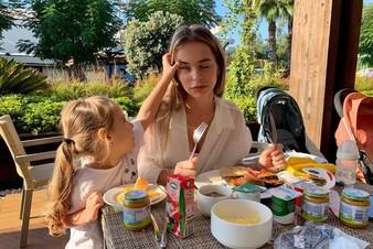 Трёхлетняя дочь Анны Хилькевич заменила няню