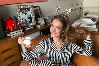 Наталья Водянова запустила свой YouTube-канал