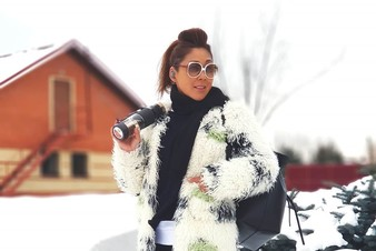 Настасья Самбурская снялась в клипе Аниты Цой