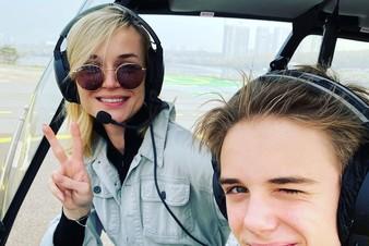 Это TOP-3 Instagram: Полина Гагарина летит на вертолете, а Жанна Бадоева играет в гольф