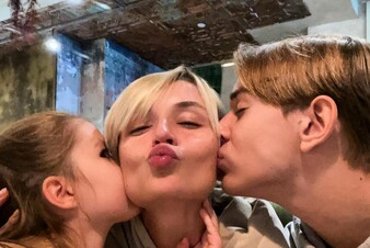 TOP-3 Instagram: cемейное фото Полины Гагариной и откровения Оксаны Самойловой о папе