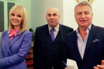 Валерия и Леонид Агутин получили Ордена Дружбы
